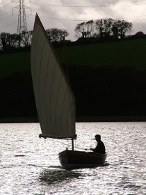 Stirling and Son 14ft dinghy with one reef