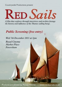 Red Sails A4 free screening poster