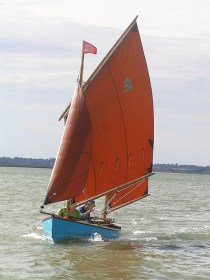Ethel - 15ft 6in David Moss canoe yawl for sale