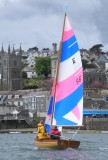 Marcus Lewis builds Fowey River Class dinghies