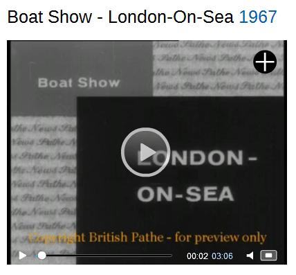 Boat Show London 1967