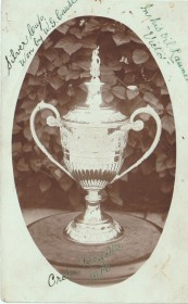 Cause oil launch regatta trophy 1910