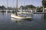 plank on edge racing yacht