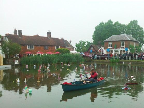 Goudhurst Jubilee boats 10