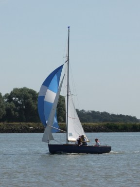 Oare Creek to the Colne and back Brightlingsea One Design 1