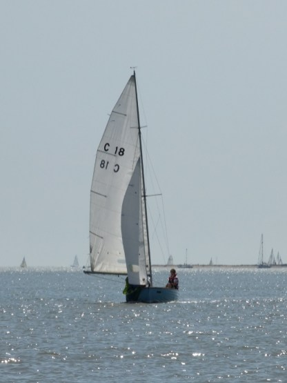Oare Creek to the Colne and back Brightlingsea One Design 2