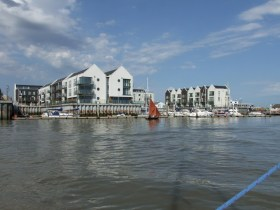 Oare Creek to the Colne and back Brightlingsea's carbuncle