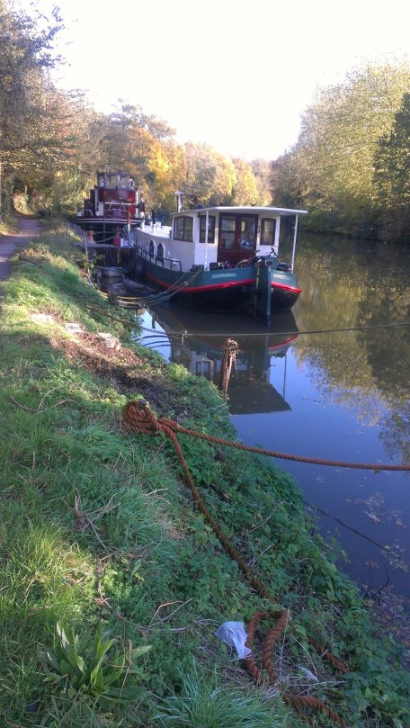 Boats on the Medway at Allington 4