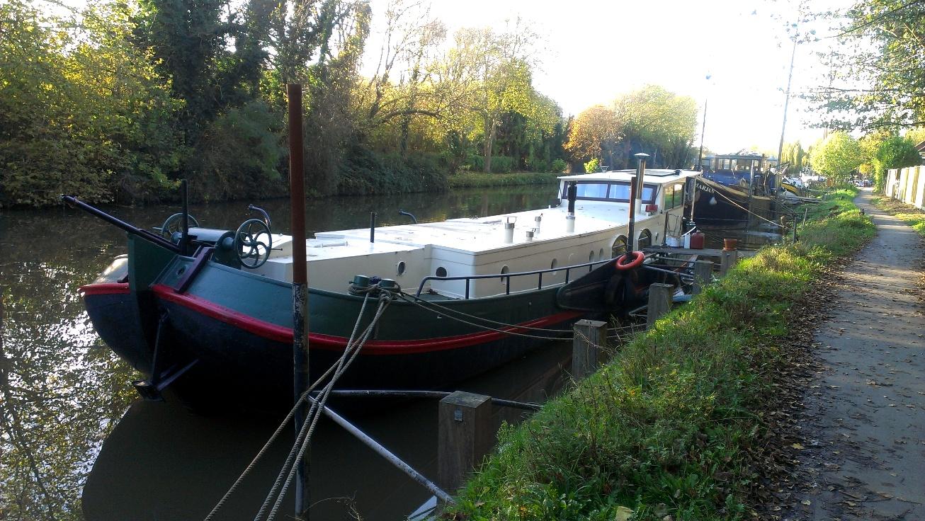 Dutch Barges On The Medway Near Allington Intheboatshed Net