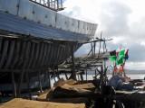 Ship building at Essaouriaa