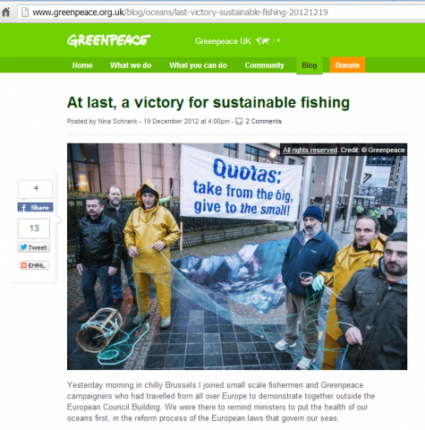Greenpeace quota win