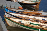 Skiffs tied up at Portsoy harbour 2
