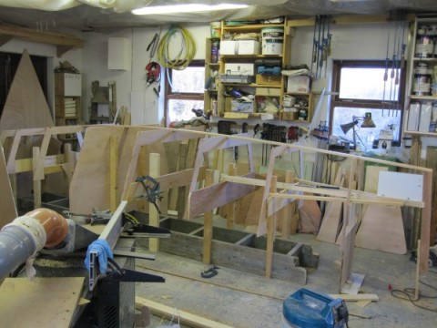 Tiernan Roe microcruiser workshop