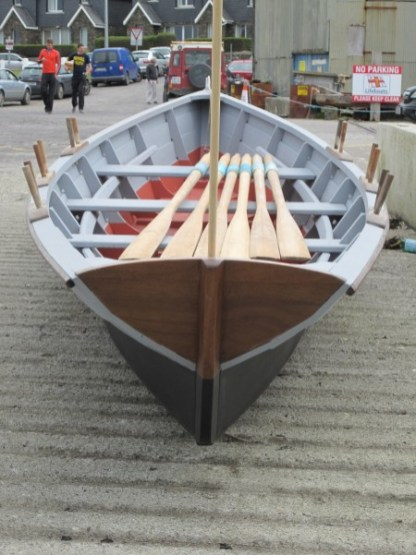 Gandelow built by AK Ilen Wooden Boatbuilding School