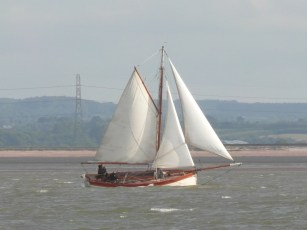 In the Swale 21 June 2013 cutter 5