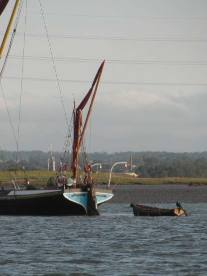 In the Swale 21 June 2013 sailing barge Mirosa 2