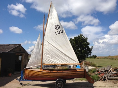 Gibbs Halcyon dinghy by Abingdon and Skabardis