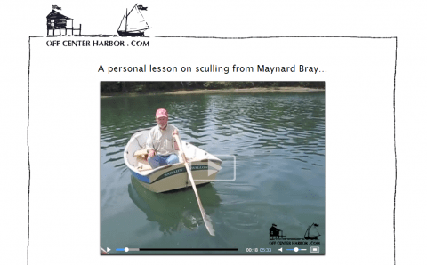 Learn to scull with Maynard Bray