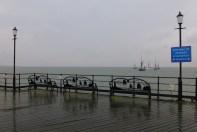 Jimmy Lawrence barge skipper talks on Southend Pier 5