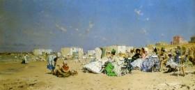 Frederik_Hendrik_Kaemmerer_The_beach_of_Schieveningen