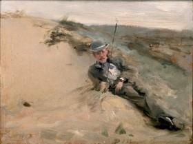 John_Singer_Sargent_-_Ralph_Curtis_on_the_Beach_in_Scheveningen