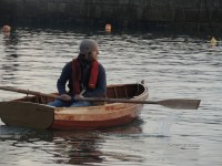 10' traditional clinker rowing boat Janine Cashin Dec 13 (88)