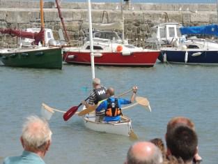 14.5' Composite Sailing Canoe. Photo by Janine Cashin 100614 (35)