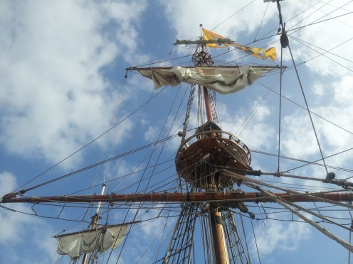 Shtandart in Ramsgate Harbour