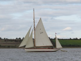 Cygnet of London sailing 1