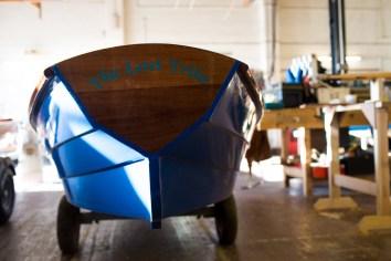 Boat Building Academy Lyme Regis launch 2014 photographs