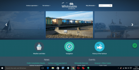 Whitstable Maritime website