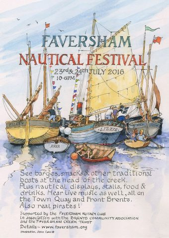 Faversham Nautical Festival 2016