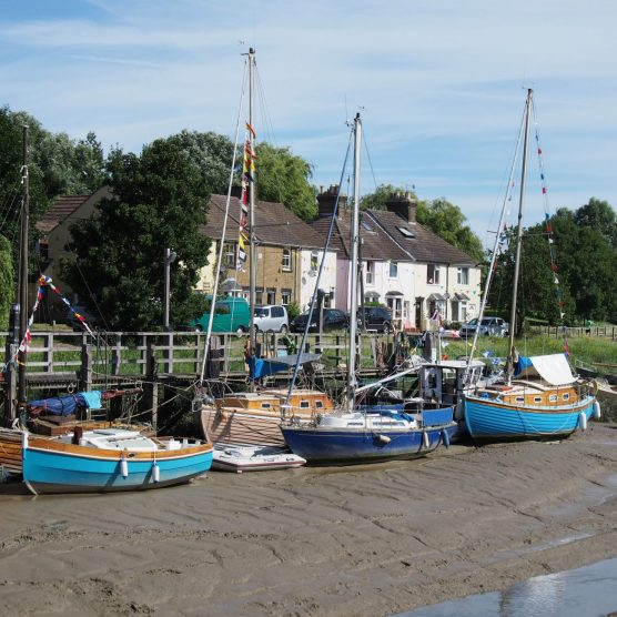 Boats in the Creek