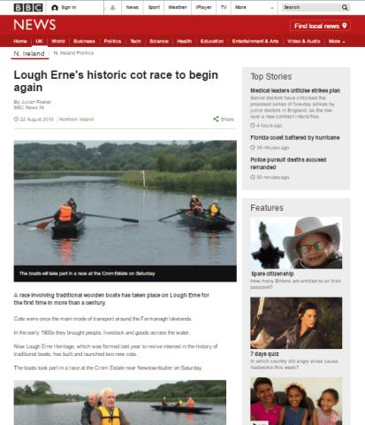 Lough Erne cots