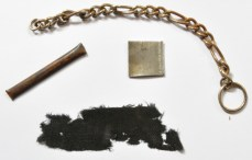 P9 Memento objects, probably from HMS Barham after being torpedoed a