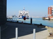 Ferry leaving The Camber (small) 6