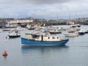Spindrift in St Peter Port - 15 November 2017
