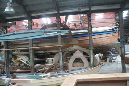 403 Shetland Museum 22 boatshed
