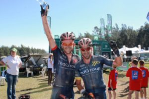 Multiple former winners Max Knox (left) and Kevin Evans, of FedGroup-Itec. Photo: Full Stop Communications