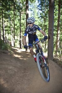 Nico Bell is preparing for a ding-dong battle at the three-day Nedbank sani2c mountain bike race in KwaZulu-Natal from Thursday. Photo: Jazz Kuschke