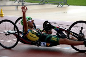 2015 World Champion Pieter du Preez will be racing through the streets of Pietermaritzburg at the 2015 UCI Para-cycling Road World Cup from 11-13 September. Photo credit: Illse du Preez.