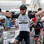 Dimension Data's Mark Cavendish is a British professional road and track cyclist.