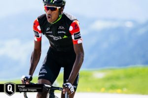 Daniel Teklehaimanot is part of the Dimension Data team that has been named for the Tour de France. Photo: Gruber Images