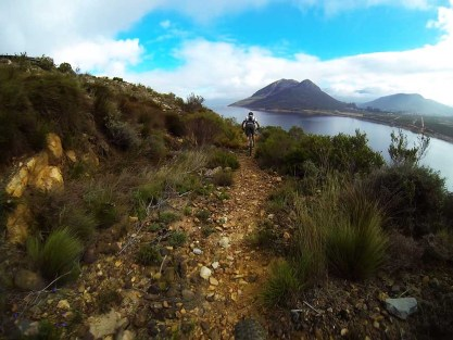 The Paarl region offers many different route options to mountain biking enthusiasts. Photo: Supplied
