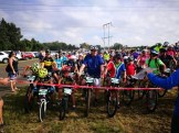 Riders at the start of the Winter Fast One