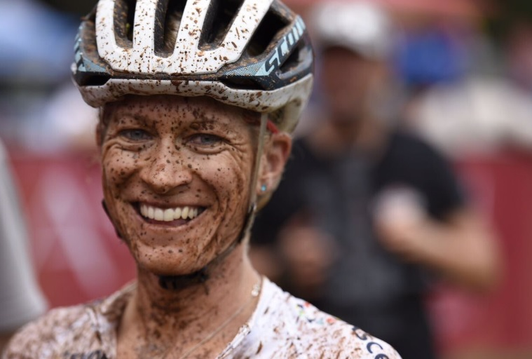 Robyn de Groot won the women's race at the National MTB Series in Sabie, Mpumalanga today.