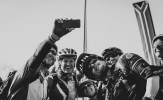 Image of riders taking a 'selfie' on day seven of joBerg2c. Photo: Em Gatland