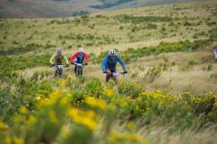 A photograph of the scenic stage three of sani2c that passed through Vernon Crookes Nature Reserve. Photo: Anthony Grote