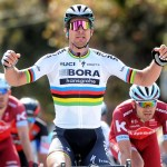 Peter Sagan sprints into history books with third consecutive world title