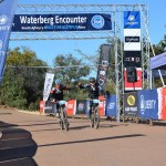 Charles Steyn and Ian McLeod won stage one of the 2017 Waterberg Encounter in Limpopo.